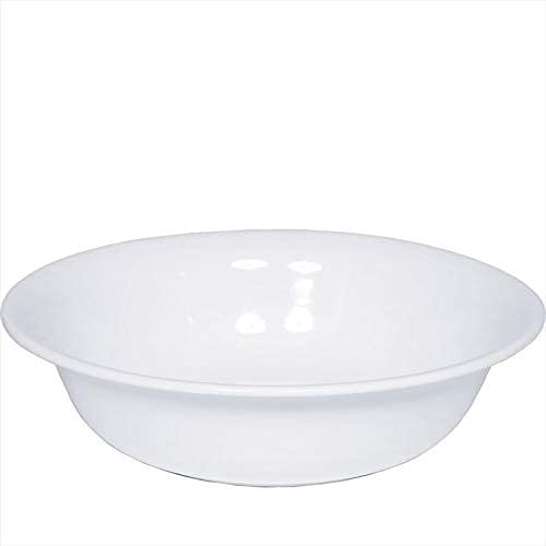 Riess 0364-033, Waschbecken, CLASSIC WEISS, Durchmesser 40 cm, Höhe 11.5 cm, Inhalt 7.0 Liter, Emaille, weiß, große Schüssel