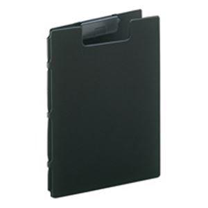 (業務用30セット) LIHITLAB クリップファイル/バインダー 【A4】 F-2660-24 黒 ds-1744961