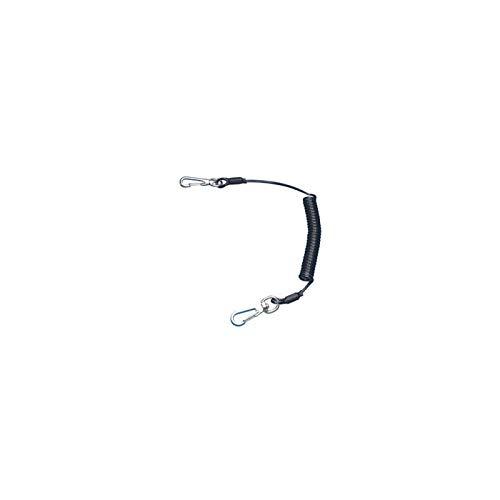スーパーツール(SUPERTOOL) 安全ロープ(ステンレスワイヤー芯)2kg用 ブラック ARS20B