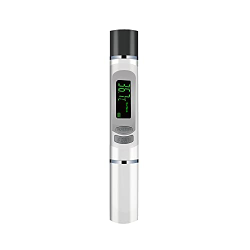 【Amazon限定ブランド】 非接触式電子温度計 非接触温度計 非接触 赤外線: 1秒検温 30回記録 小型軽量デザイン 赤外線温度計 FIDAC