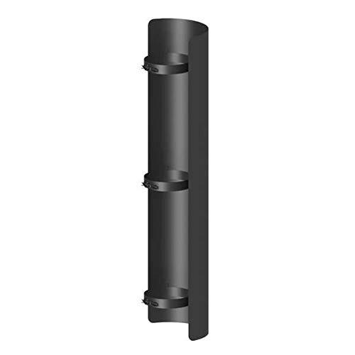 Ø 120 mm Ofenrohr Strahlungsschutz 100 cm Schwarz