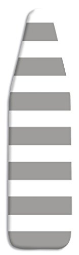 Whitmor Ironing Board Cover with Pad Paloma Gray Stripe