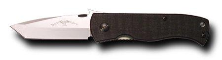Emerson CQC7BW-SF Plain Stonewashed Blade with Wave