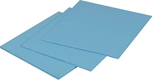 ARCTIC Thermal Pad (50 x 50 x 1,0 mm) - Exzellente Wärmeleitung durch Silikon und speziellen Füller, geringe Härte, idealer Gap-Filler, sehr einfache Installation, sichere Handhabung - Blau