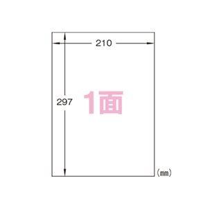 (業務用セット) エーワン 特殊素材ラベル 光沢フィルム・透明 28426 10枚入 【×2セット】 ds-1523211