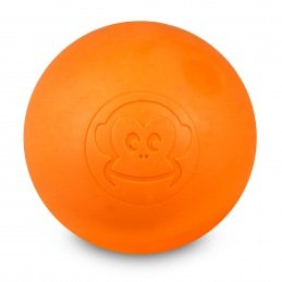 Lacrosse-Ball von Captain LAX , Orange