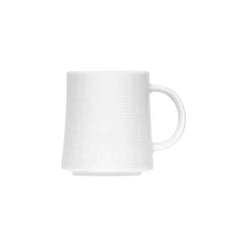 Bauscher 255528 Carat Dekor Uni Stapelbar Becher (6er Pack)