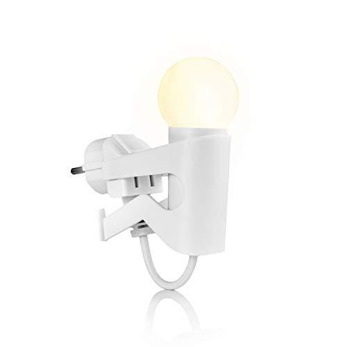 """LED-Nachtlicht für die Steckdose als Nachtlampe in Baby- oder Kinder-Zimmer   Nachtleuchte """"Helles Köpfchen"""" von IBV"""