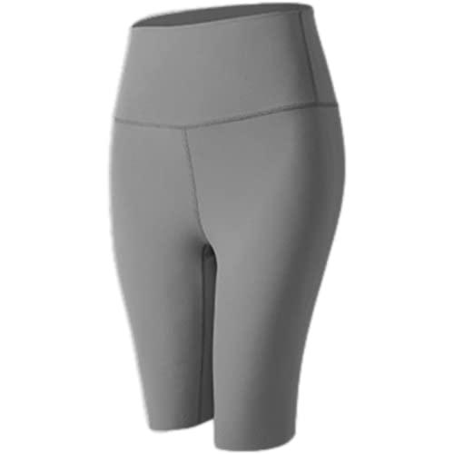 Corumly Pantalones Cortos Deportivos para Mujer Pantalones Cortos Ajustados elásticos de Cintura Alta para Correr en Europa y Estados Unidos Pantalones Cortos cómodos con Control Abdominal XXL
