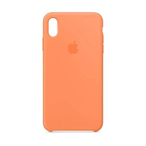 Apple Custodia in silicone (per iPhone XS Max) - Arancione Papaya