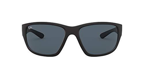 Ray-Ban 0RB4300 Gafas de sol, Matte Black, 62 para Hombre