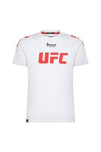Boxeur des rues - White T-Shirt with Patch Prints, Man