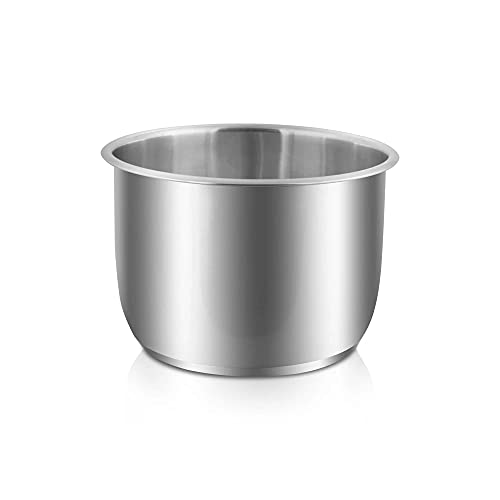 MakeCuisine – Cubeta de Acero Inoxidable para olla TOPCHEF 2 en 1. Apta para ollas programables de 6 litros