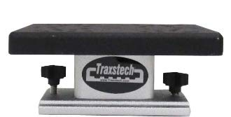 Traxstech Fishing Systems Non-Swivel Base with 2.5' Low-Profile Riser for downrigger Mounted to Tracks for trolling Fishing