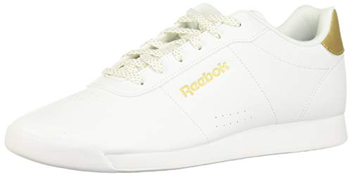Reebok Damen Royal Charm Multisport Indoor Schuhe, Weiß (White/Gold Metallic 000), 37 1/3 EU