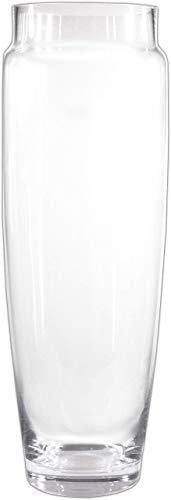 Große Bodenvase 48cm hoch (Handarbeit/Mundgeblasen) Vase XXL Glasvase Blumenvase aus Glas