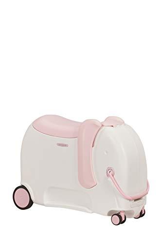 Samsonite Dream Rider Deluxe - Children's Luggage, 55 cm, 25 Litre, White (Elephant Peachy)