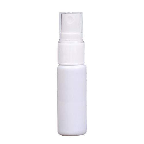 MaJia Bouteille de spray en plastique blanc 20 ml 30 ml 50 ml