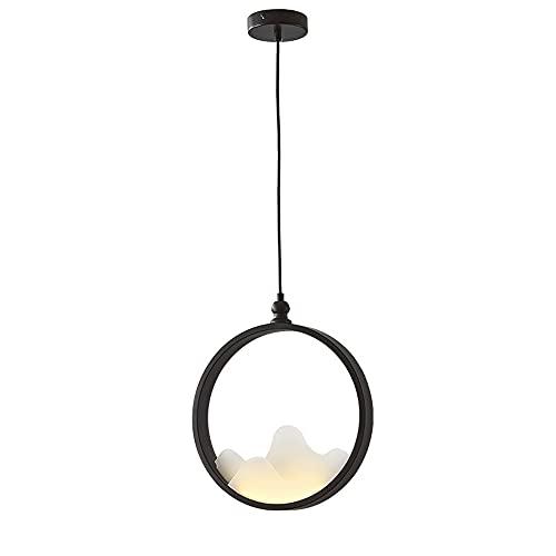 NAMFMS Nowy chiński styl lampy wiszące żelazna sztuka żyrandol akrylowy osobowość sztuki lampy wiszące oprawa kreatywna nocna Droplight sypialnia studium oświetlenie Droplight