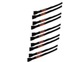 JUMBO Spanband 10 pack, 18mm, 40cm, zwart met klemgesp, TUV gecertificeerd, conform EN-12195-2