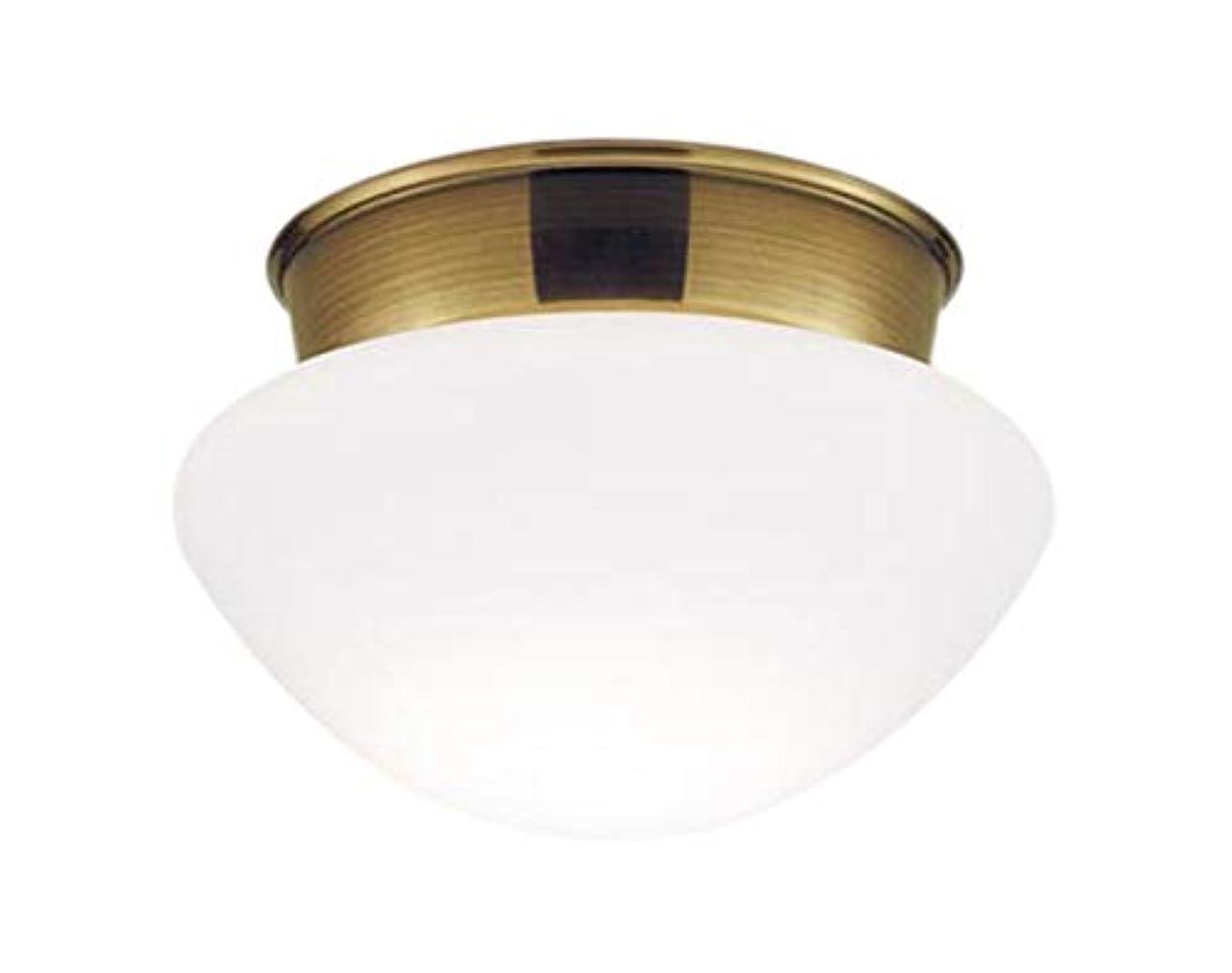 モノグラフガムぼんやりしたパナソニック 小型シーリングライト LGB58011Z E17 40形 金色古味