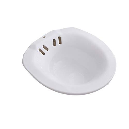 Sitz Bath,Perineales Bad Für Die Toilette, Zur Entlastung Von Hämorrhoiden, Ideal Für Patienten Nach Episiotomie (Color : White)