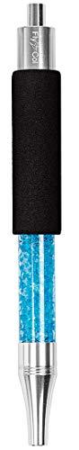FlyCol Ice Mundstück | Ice Bazooka 2.1 New Version | Hochwertiges Mundstück zum kühlen | Mundstück und Kühlpad in einem | Premisum Shisha Zubehör EIS Schlauch Eisschlauch (Blau)