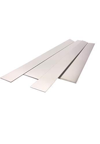 Blechstreifen, Alublechstreifen bis1500mm Länge 1+1,5+2mm Alu (Alu 2mm 80x1000)