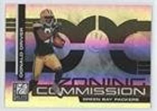 Donald Driver #126/400 (Football Card) 2007 Donruss Elite - Zoning Commission - Black #ZC-21
