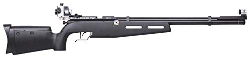 Crosman CH2009S Challenger PCP and CO2-Powered .177-Caliber Pellet Competition Air Rifle With Precision Diopter System , Black