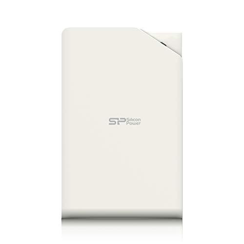 Silicon Power SP010TBPHDS03S3W Externe Festplatte 1TB (6,4 cm (2,5 Zoll), USB 3.0) weiß