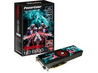 TUL Radeon HD 6990 Grafikkarte (PCI-e, 4096MB GDDR5 Speicher, 4 Mini DP, 2 GPU)