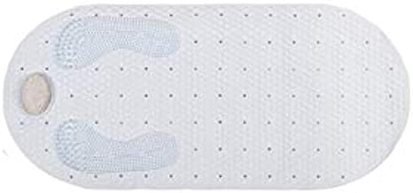 "Popular Bath 833720 Tub Mat, 16"" x 32"", White"