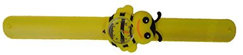 Bonita correa de reloj en forma de abeja. Sistema de resorte que...