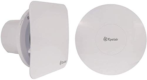 Xpelair C4TSR Simply Silent Contour Extractor Fan with Timer 4'/100mm Bathroom - Square/Round