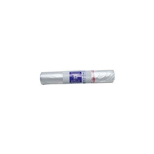 Sac poubelle transparent - 50 L - 24 microns - x30