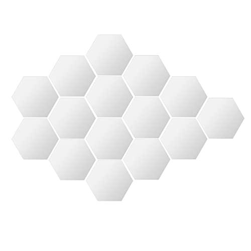 Wohnaccessoire - Adhesivo decorativo para pared (20 x 17,2 x 10 cm, 117 pegatinas pequeñas de doble cara)