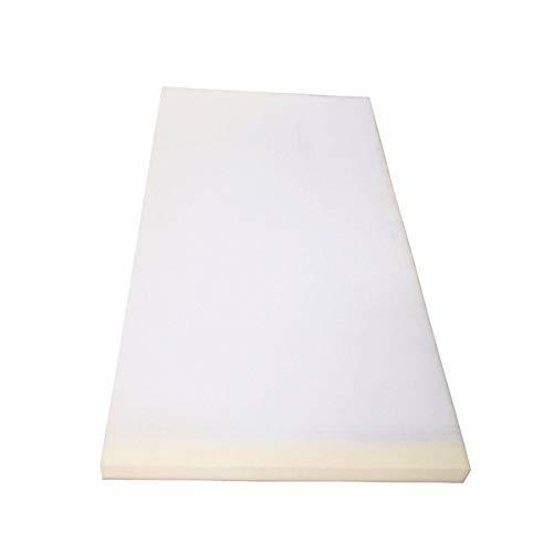 Cojín de espuma para tapicería de alta densidad de 75 x 40 cm (color: 10 cm)