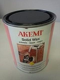 Akemi Solid Paste Wax (Black)