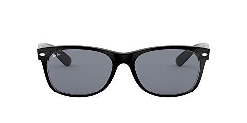 RAY-BAN 6398Y5 Gafas de sol, Black/Transparente, 55 para Hombre