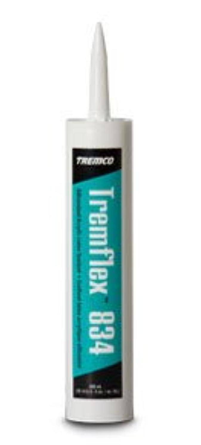 Tremflex 834 Siliconized Interior Acrylic Latex Sealant, 12 - 10.3 Fluid Ounce Cartridges