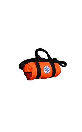 Dress-Up-America EMT Duffle Bag - First Responder Costume Accessories - Orange EMT Dress Up Bag for Kids