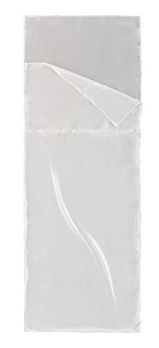 Ferrino Silk Liner SQ, Sacco Lenzuolo Uomo, Bianco, 210x80x50 cm