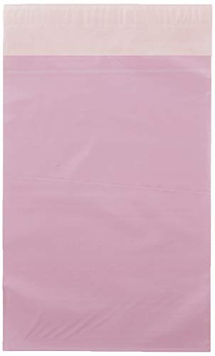 Triplast 15 x 23 cm postväska i plast – rosa (paket med 100)
