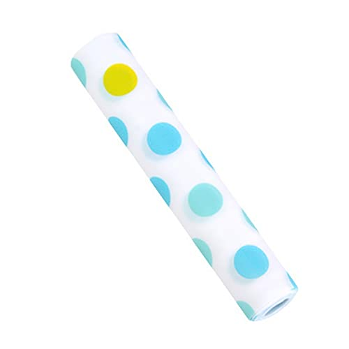 Für Wohnkultur. DJM Kunststoff Bedruckte Tapete wasserdichte Schublade Papier Bunte Matte Kleiderschrank Küchenschrank Pad, Größe: 30x500 cm (Farbe : Blue Dot)