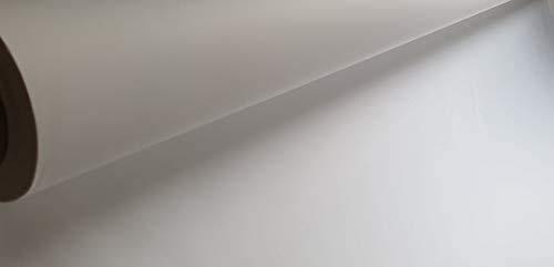 Beamerleinwand Präsentationsgewebe Projektionsleinwand Stoff Weiß Schwerentflammbar (B1) als Meterware (310 Zentimeter, Weiß)