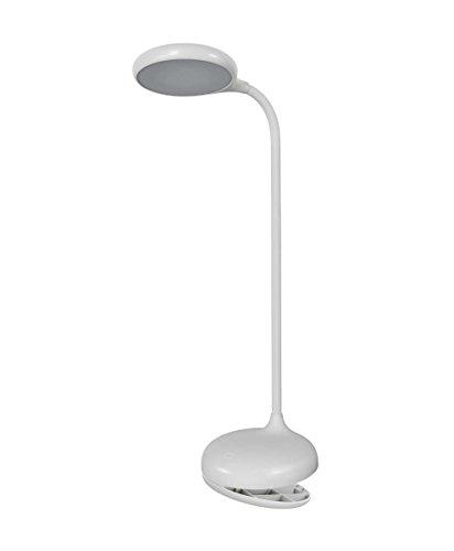 Osram LED Panan Puck Clip Schreibtisch-Leuchte, für innenanwendungen, Warmweiß, dimmbar per Touch-Schalter