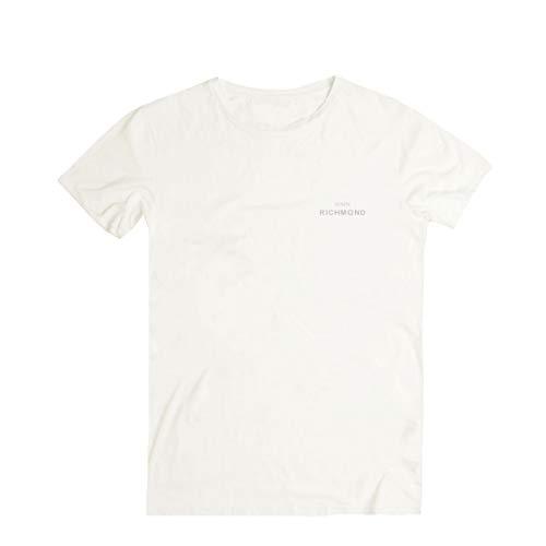 John Richmond, T-Shirt Sean, Bianco, RCH_RMA19243-A WHI - L