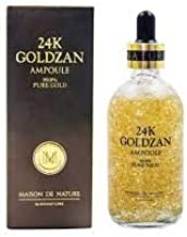 24k GOLDZAN AMPOULE 99.9% Pure Gold Serum of The Year in Korea - Maison de Nature which is effective in anti-aging Reduce fade, freckles, dark spots