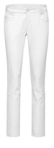 KJUS Women Irene 5-Pocket Chino Weiß, Damen Hose, Größe 40 - Farbe White